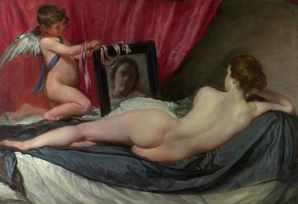 Velazquez Wall Art - Painting - The Toilet Of Venus by Diego Velazquez