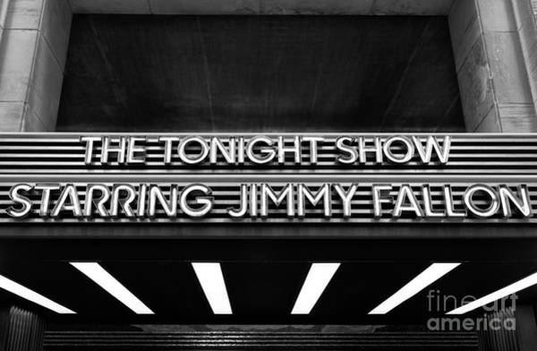 Wall Art - Photograph - The Tonight Show by John Rizzuto