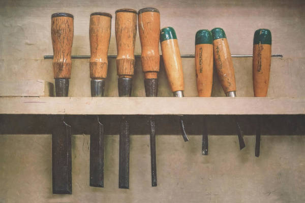 Shelves Photograph - The Tools Of The Trade by Scott Norris
