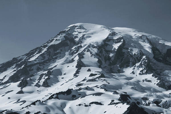 Photograph - The Top Of Rainier by Dan Sproul