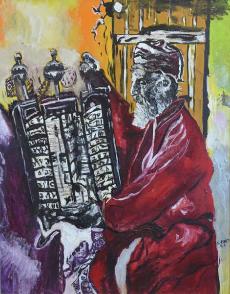Wall Art - Painting - The Torah by Stephanie Sunshine