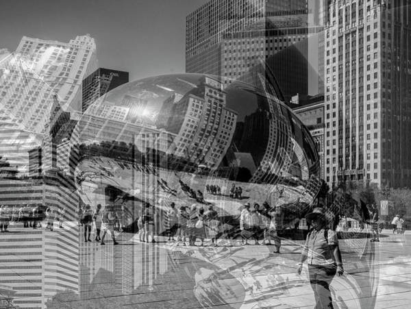 Photograph - The Tourists - Chicago by Shankar Adiseshan