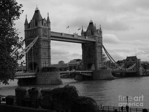 Photograph - The Tower Bridge by Jeffrey Peterson