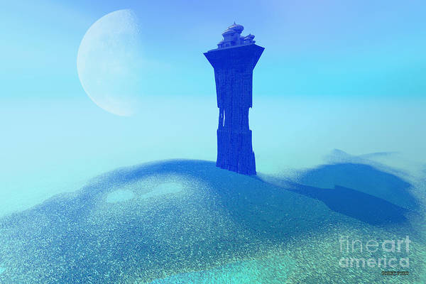 Wall Art - Painting - The Tower by Corey Ford