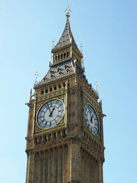 Photograph - The Tower Of Big Ben by Jeffrey Peterson