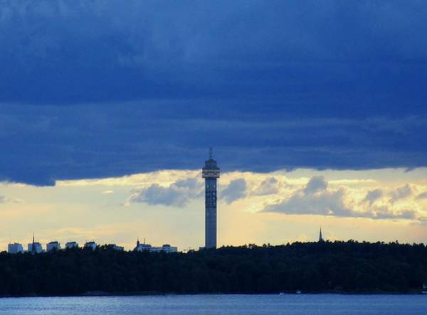 Photograph - The Tower by Rosita Larsson
