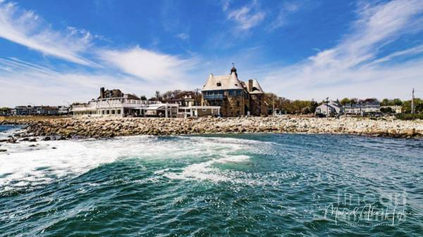 Photograph - The Towers Of Narragansett  by Michael Hughes