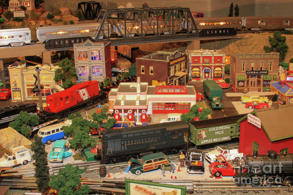 Ns Photograph - The Town Layout Thomas Trains Art by Reid Callaway