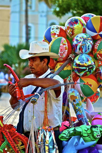 Photograph - The Toy Man by Diana Hatcher
