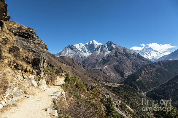 Photograph - The Trail To Everest by Didier Marti