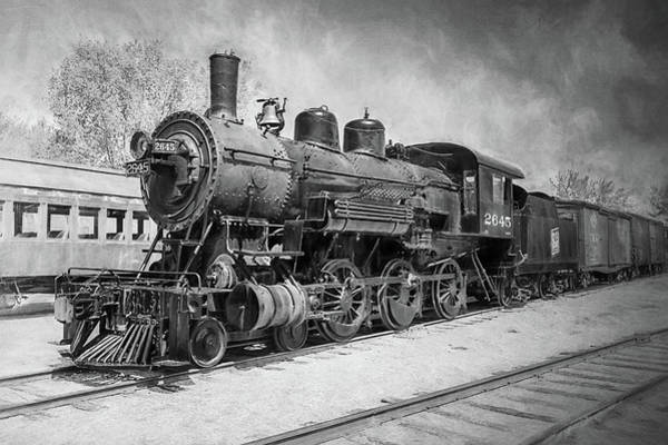 Photograph - The Train Yard 2 by Susan Rissi Tregoning
