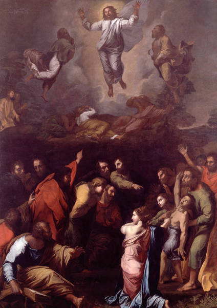 Painting - The Transfiguration  by Raphael