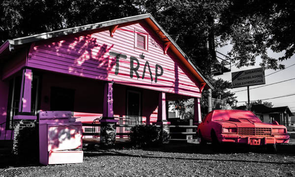 Hotlanta Photograph - The Traphouse  by Kennard Reeves