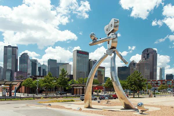 The Traveling Man Dallas 080618 Art Print