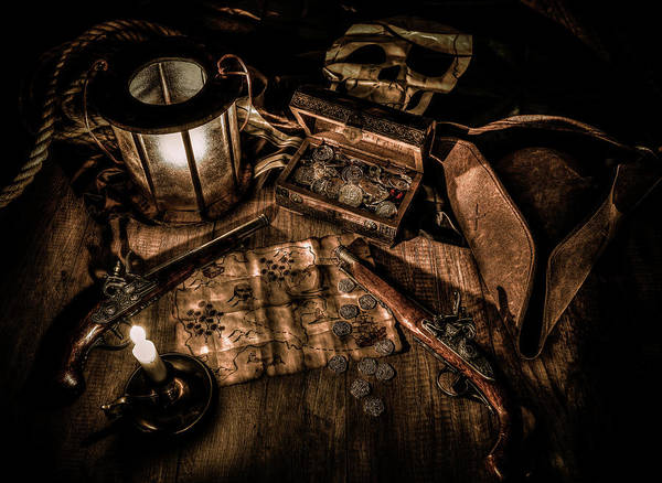 Wall Art - Photograph - The Treasure Hunt by Hans Zimmer