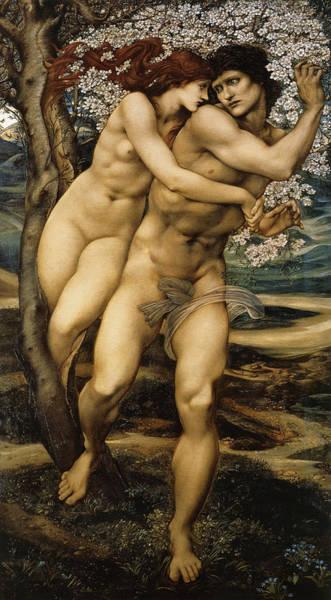 Boudoir Digital Art - The Tree Of Forgiveness by Edward Burne Jones
