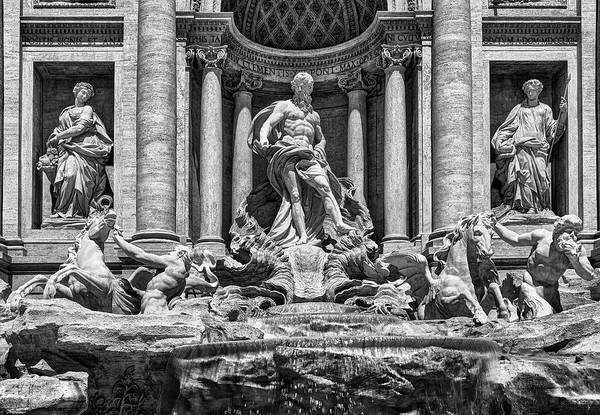 Photograph - The Trevi Fountain In Rome by Fine Art Photography Prints By Eduardo Accorinti