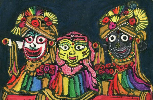 Wall Art - Mixed Media - The Trio by Jennifer Mazzucco