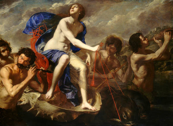 Wall Art - Painting - The Triumph Of Galatea by Artemisia Gentileschi