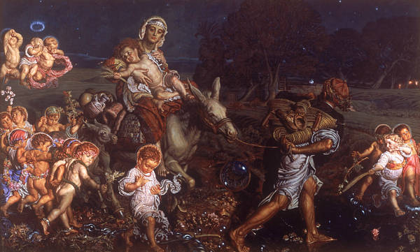 Painting - The Triumph Of The Innocents  by William Holman Hunt