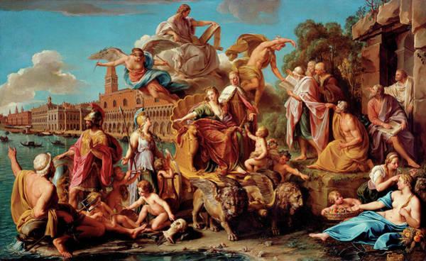 Birth Of Christ Wall Art - Painting - The Triumph Of Venice by Pompeo Girolamo Batoni