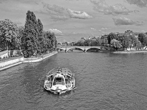 Photograph - The Trocadero On The River Seine by Digital Photographic Arts