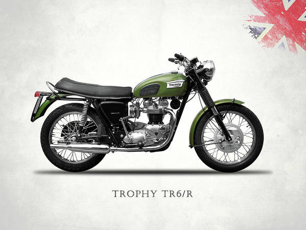 Wall Art - Photograph - The Trophy Tr6r by Mark Rogan