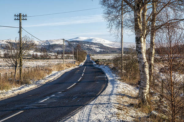 Photograph - The Trossachs National Park In Scotland by Jeremy Lavender Photography