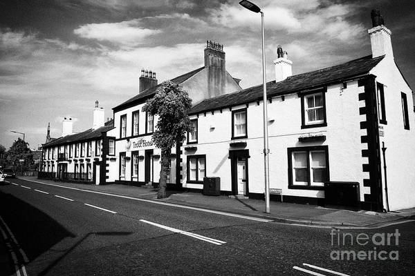 Wall Art - Photograph - The Trout Hotel Crown Street Cockermouth Cumbria England Uk by Joe Fox