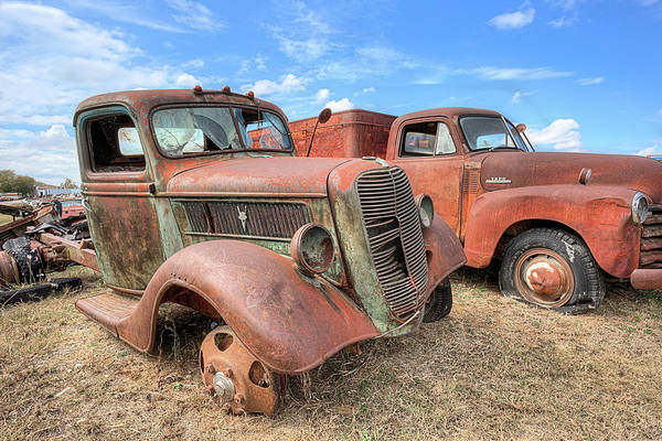Photograph - The Truck Retirement Home by JC Findley