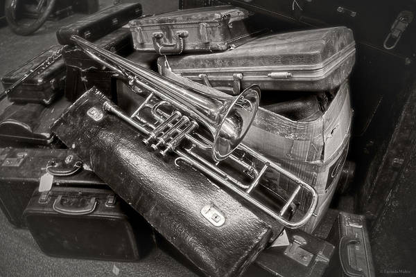 Photograph - The Trumpet Will Sound by Lucinda Walter