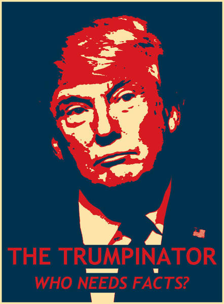 Gop Photograph - The Trumpinator by Richard Reeve