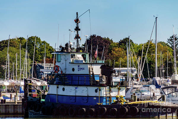 Photograph - The Tug by William Norton