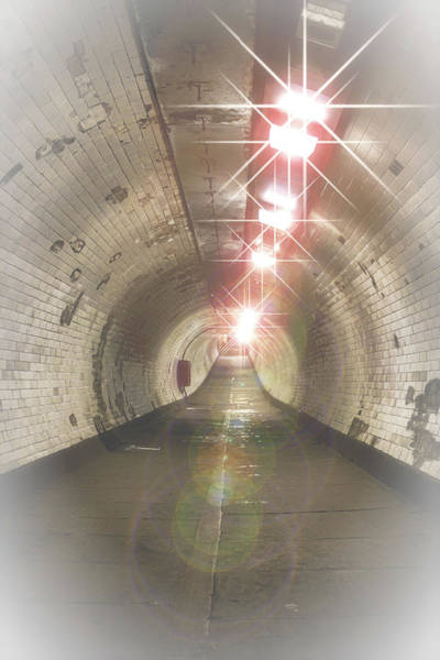 River Thames Photograph - The Tunnel by Martin Newman