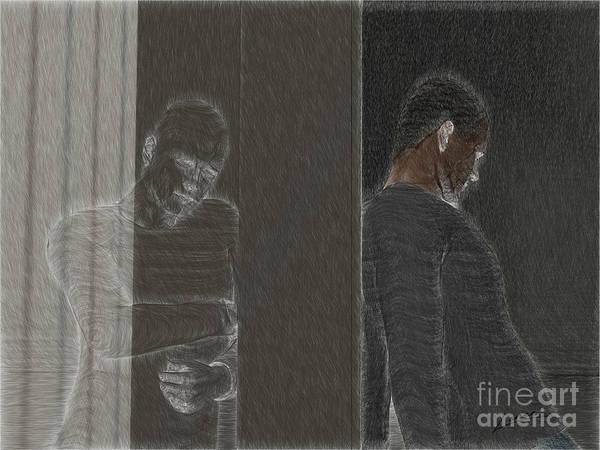 Digital Art - The Turmoils Of Love by Lance Sheridan-Peel