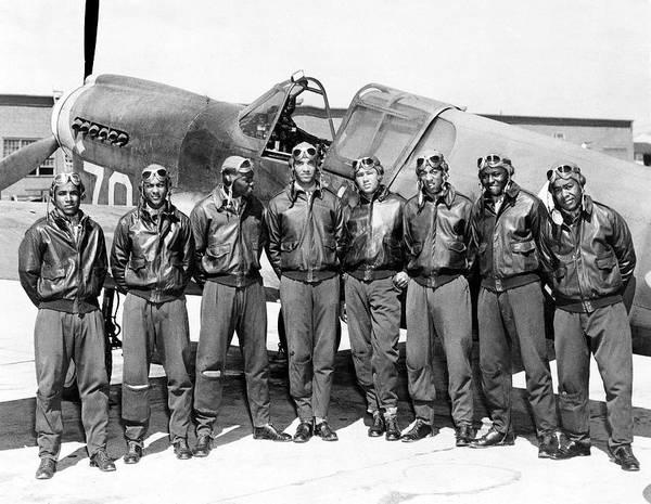 The Tuskegee Airmen Circa 1943 Art Print
