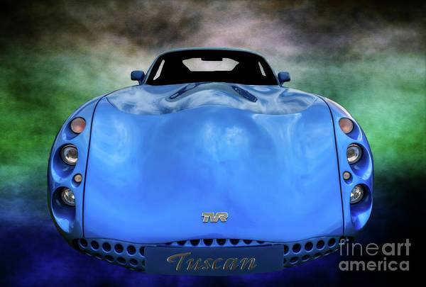Wall Art - Photograph - The Tvr Tuscan by Adrian Evans
