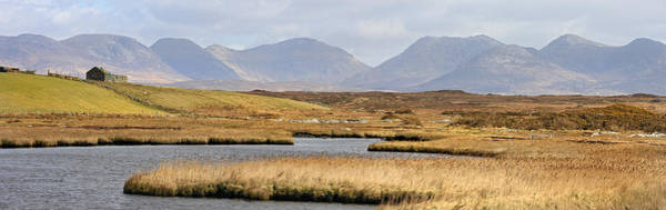 Photograph - The Twelve Bens Mountains Connemara Ireland by Pierre Leclerc Photography
