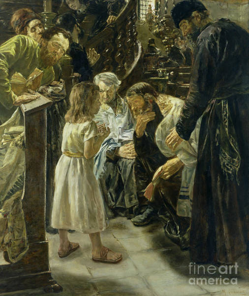 Beyond Painting - The Twelve Year Old Jesus In The Temple by Max Liebermann