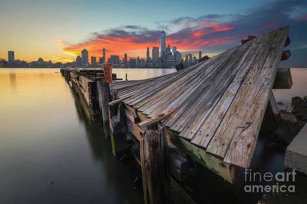 Lower Manhattan Photograph - The Twisted Pier by Michael Ver Sprill