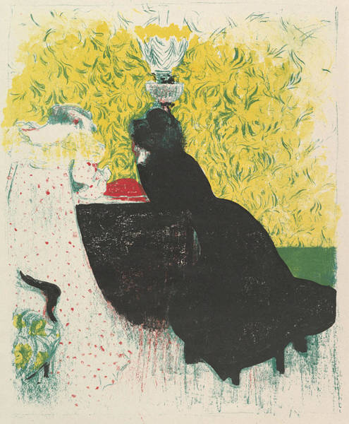 Relief - The Two Stepsisters, From The Series Landscapes And Interiors by Edouard Vuillard