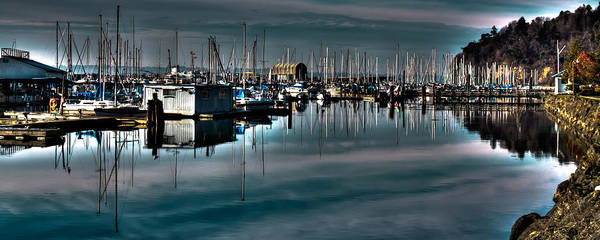 Photograph - The Tyee Marina At Brown's Point by David Patterson