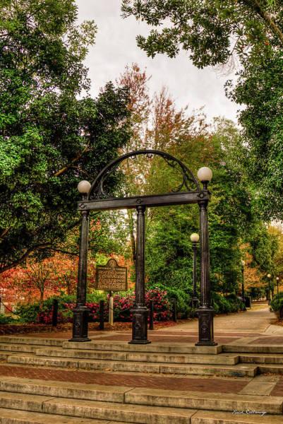 Photograph - The Uga Arch 7 The University Of Georgia Athens Georgia Fall Art by Reid Callaway