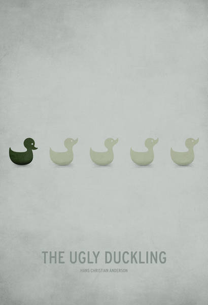 Child Digital Art - The Ugly Duckling by Christian Jackson