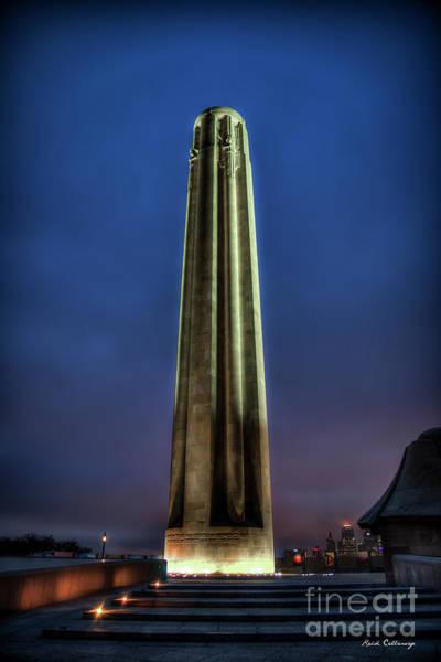 Photograph - The Ultimate Sacrifice 2  Liberty Memorial Kansas City Missouri Art by Reid Callaway
