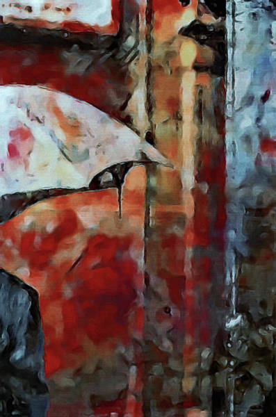 Mixed Media - The Umbrella by Susan Maxwell Schmidt