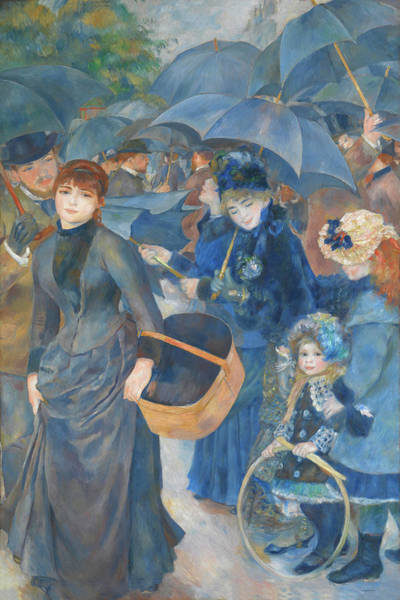 Painting - The Umbrellas By Pierre Auguste Renoir 1886 by Movie Poster Prints