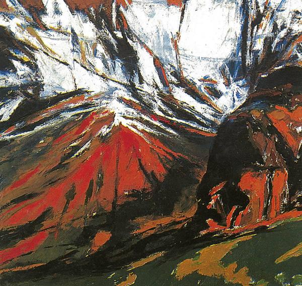 Wall Art - Painting - The Umovi Peak by Vladimir Vlahovic