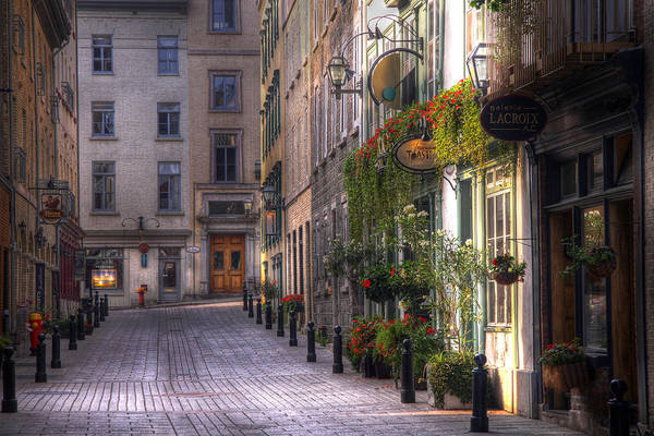 Quebec City Photograph - The Unbearable Lightness Of Being  by Russell Styles