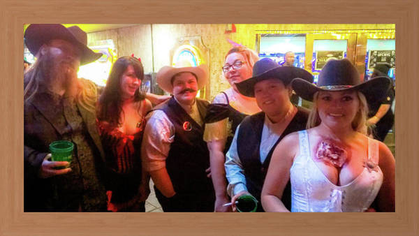 The Undead Photograph - The Undead Posse Comitatus  by Shirley Anderson